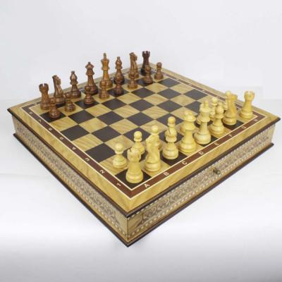 Шахматный ларец Nadir Lux темный