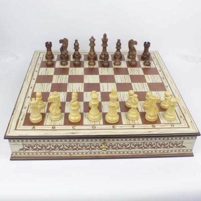 Шахматный ларец Nadir Lux ледяное дерево
