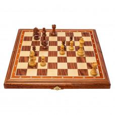Шахматы Блиц орех средние