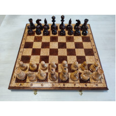 Шахматы Ренессанс карельская береза