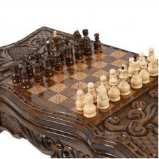 Шахматный стол нарды + шахматы, Avetyan