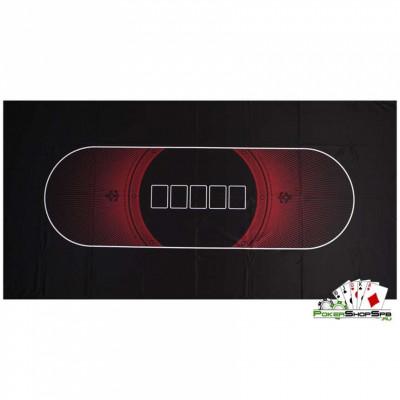 !f1!Сукно для покера черно-красное (180х90х0,2см)