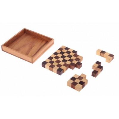 Домино Время игры, деревянный пенал