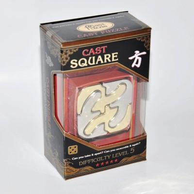 Головоломка Каре Cast Puzzle Square