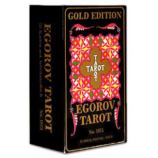 Гадальные карты Таро Егоров (78 листов + инструкция)
