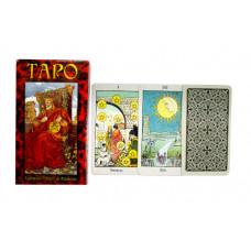 Гадальные карты Таро Универсальное (78 листов + инструкция)
