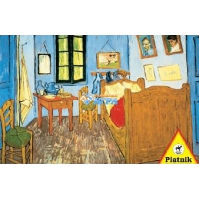 Пазл Спальня в Арле Ван Гог (1000 элементов)