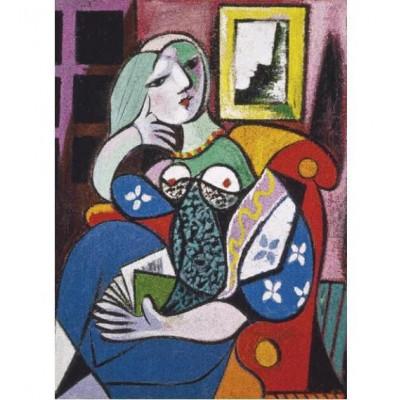 Пазл Женщина с книгой (Мария Тереза) Пикассо (1000 элементов)