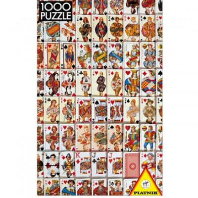 Пазл Игральные карты (1000 элементов)