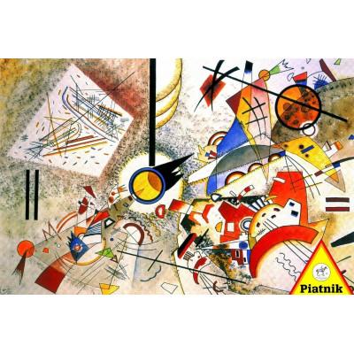 Пазл Кандинский - Абстрактная акварель (1000 элементов)