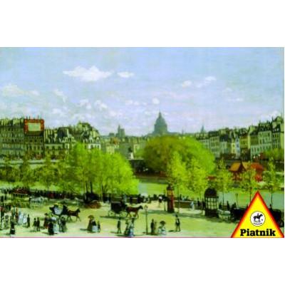 Пазл На набережной Лувра Моне (1000 элементов)