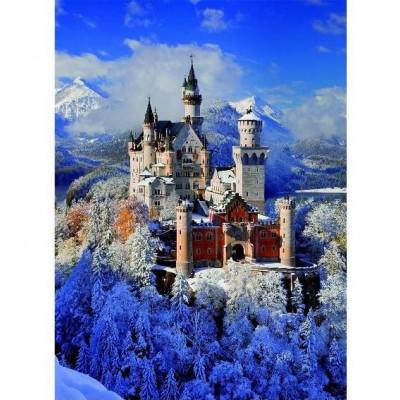 Пазл Романтический замок Нойшванштайн (1000 элементов)