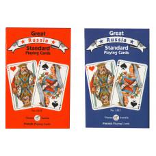 Игральные карты Русский стандарт 55 листов