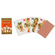 Игральные карты Золотая Россия 55 листов