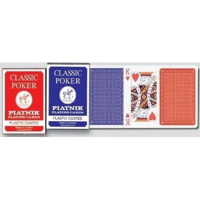 Игральные карты Классик Покер 55 листов