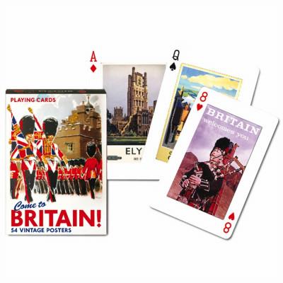 Коллекционные карты Добро пожаловать в Англию 55 листов