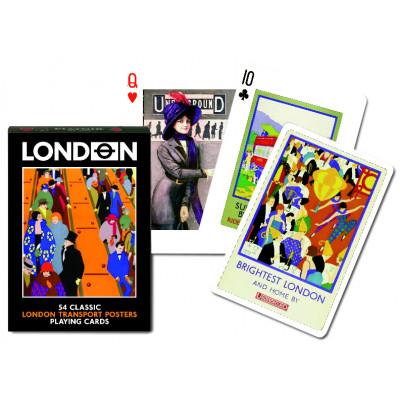 Коллекционные карты Плакаты в лондонском транспорте 55 листов
