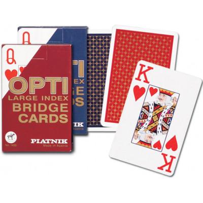 Игральные карты Опти Бридж 55 листов