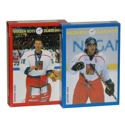 Коллекционные карты Олимпийская сборная Чехии по хоккею в Нагано 1998 год 55 листов