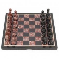 Шахматы лемезит змеевик 40х40 см