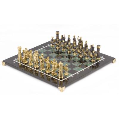 Шахматы Римские бронза березит 410х410 мм