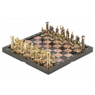 Шахматы Римские бронза креноид 360х360 мм