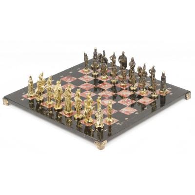 Шахматы Русские бронза креноид 40х40 см