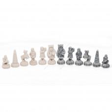 Шахматы Северные народы змеевик мрамор