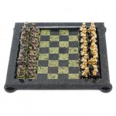 Шахматы Спортивные змеевик 40 х 40 см