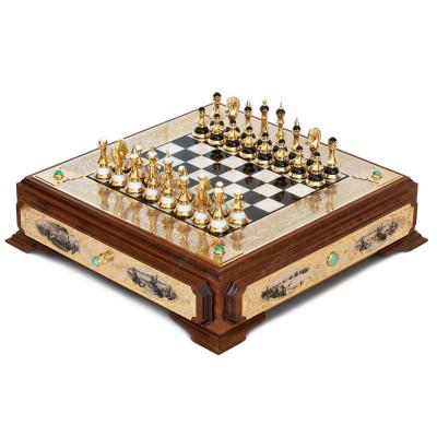 Шахматный ларец Баталия люкс