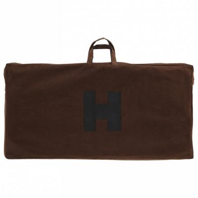 Чехол замшевый коричневый для больших нард, Haleyan