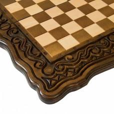 Шахматы + нарды резные Бриз 60, Haleyan