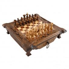Шахматы резные в ларце 50, Haleyan