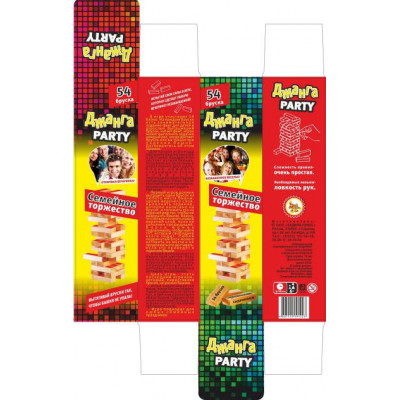 Дженга Party Семейное Торжество