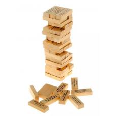 Башня с заданиями для взрослых