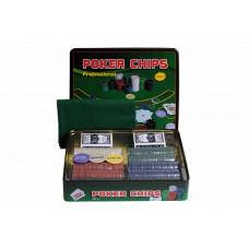 Набор для покера Holdem Light на 500 фишек с номиналом
