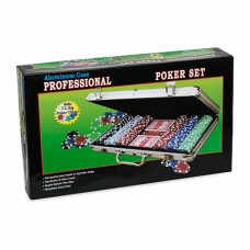 Набор для покера Leather Brown на 300 фишек