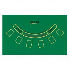 Сукно для покера и блэк-джека (90х60см)