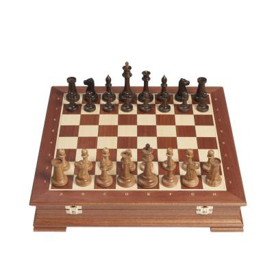 Шахматы Стаунтон Махагон