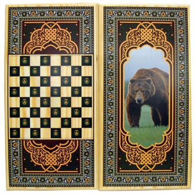Нарды + Шашки Медведь большие
