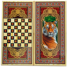 Нарды + Шашки Тигр средние