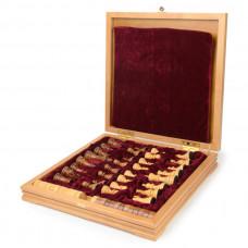 Шахматы + шашки деревянные 37х37 см