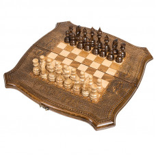 Шахматы + Нарды резные 60, Ohanyan