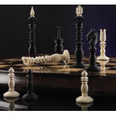 Шахматы Калверт из бивня мамонта