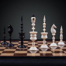 Шахматы Селенус из бивня мамонта