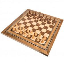 Шахматы + нарды инкрустация 60, Zeynalyan