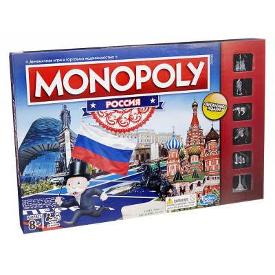 Монополия Россия новая уникальная версия Hasbro