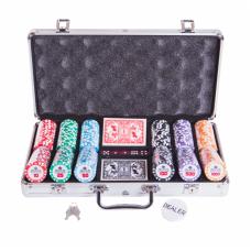 Набор для покера Premium Crown на 300 фишек