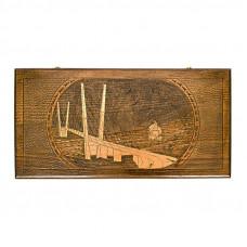 """Нарды резные """"Мост Русский"""", Ustyan"""