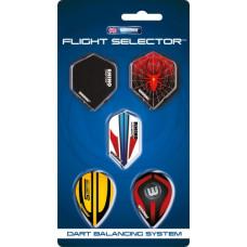 Набор из 5-ти комплектов оперений Winmau Flight Selector 8116